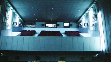 The cinema after reopening.