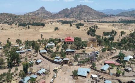 The village of Yeha in northern Ethiopia.