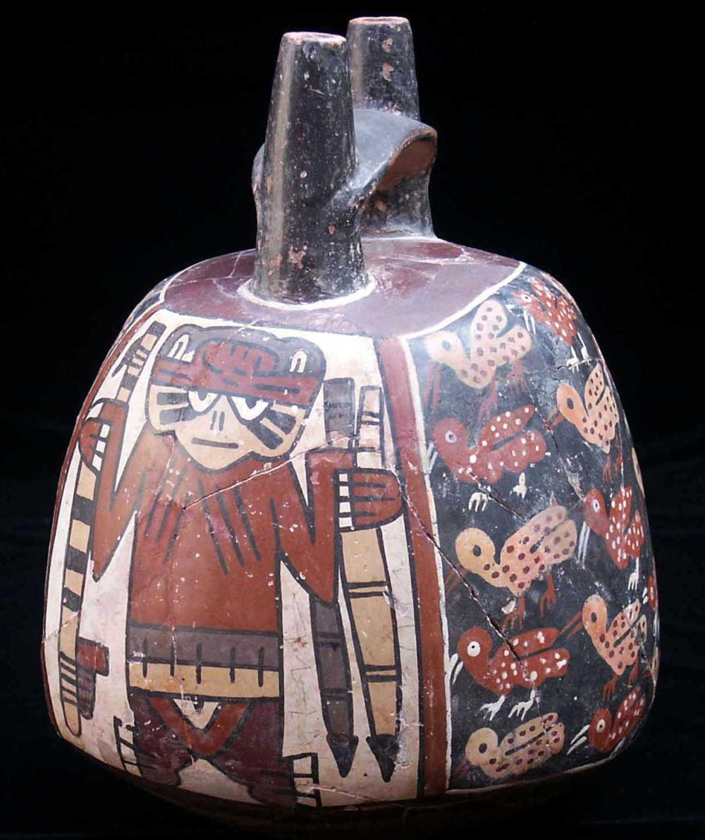 Pottery from the Nasca era.