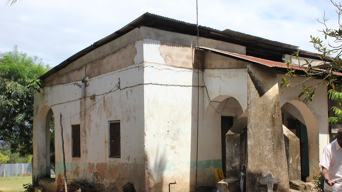 Former missionary hut