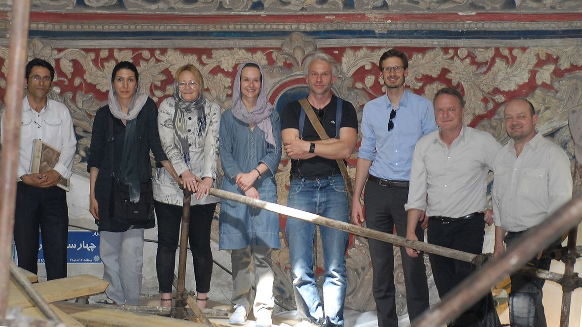Basar dome Iran - cultural heritage news
