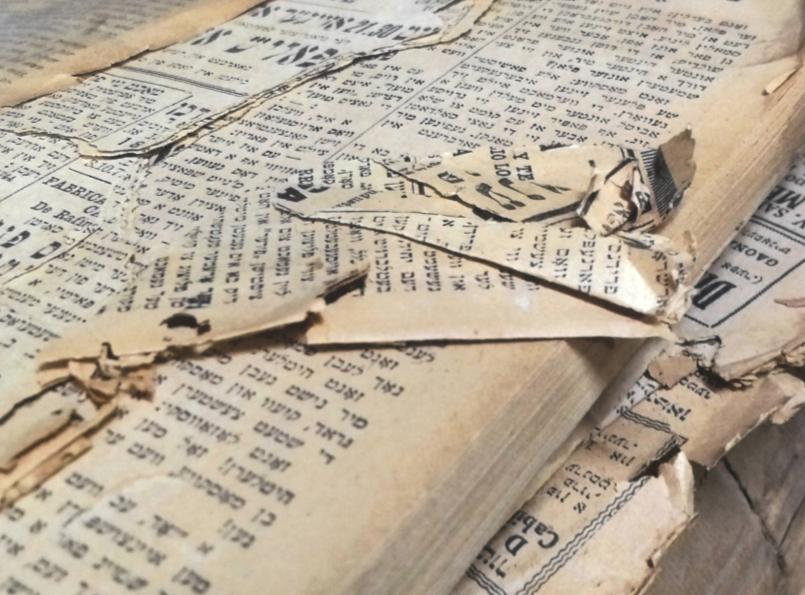 Damaged collection of Fundación IWO